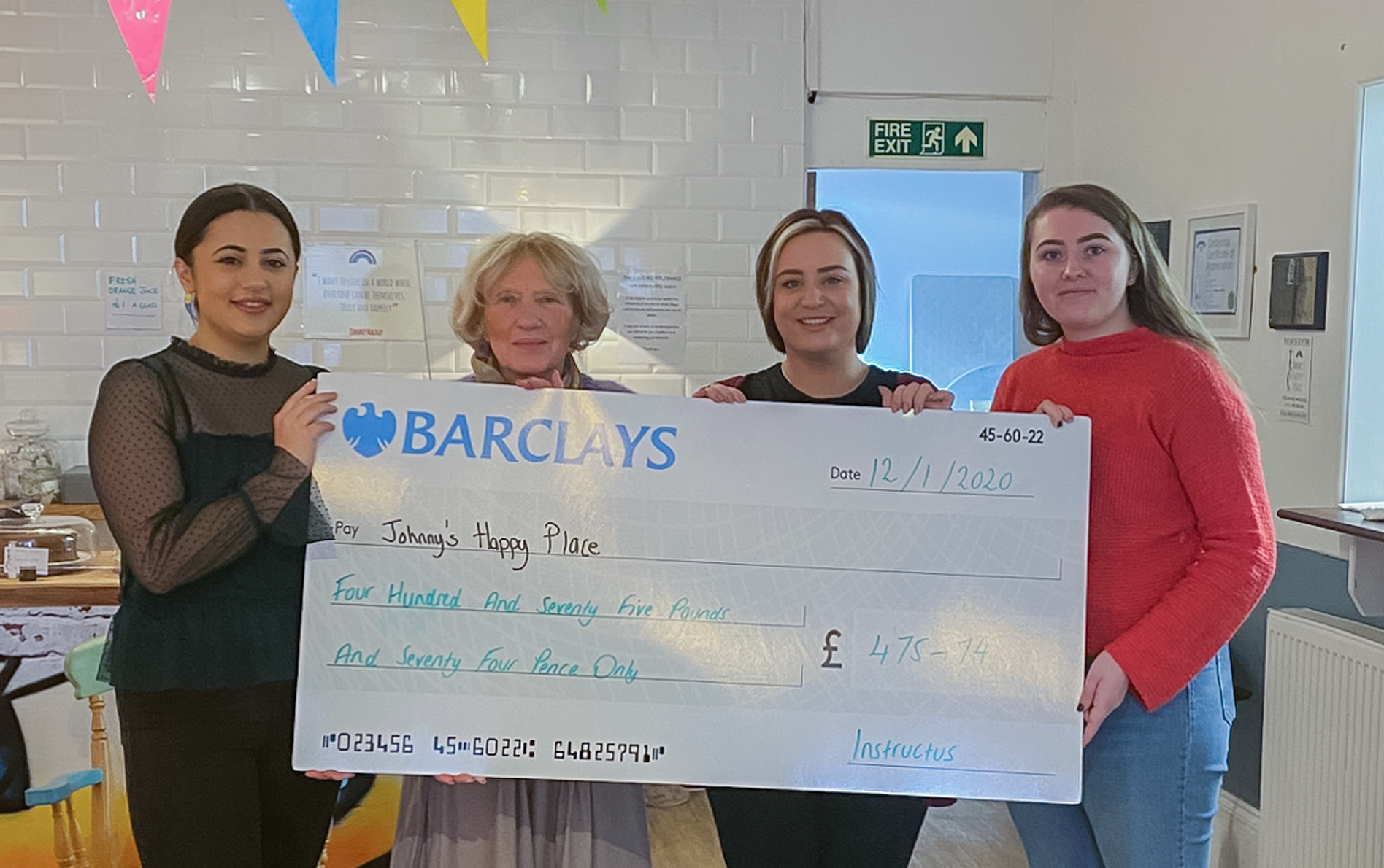 Fundraising for Johnny's Happy Place in Kettering | Instructus