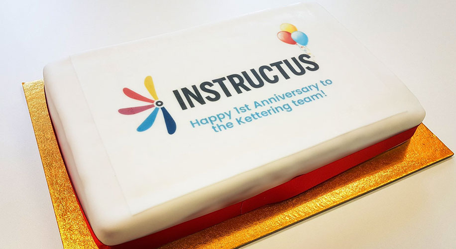 Instructus Celebrates First Anniversary in Kettering