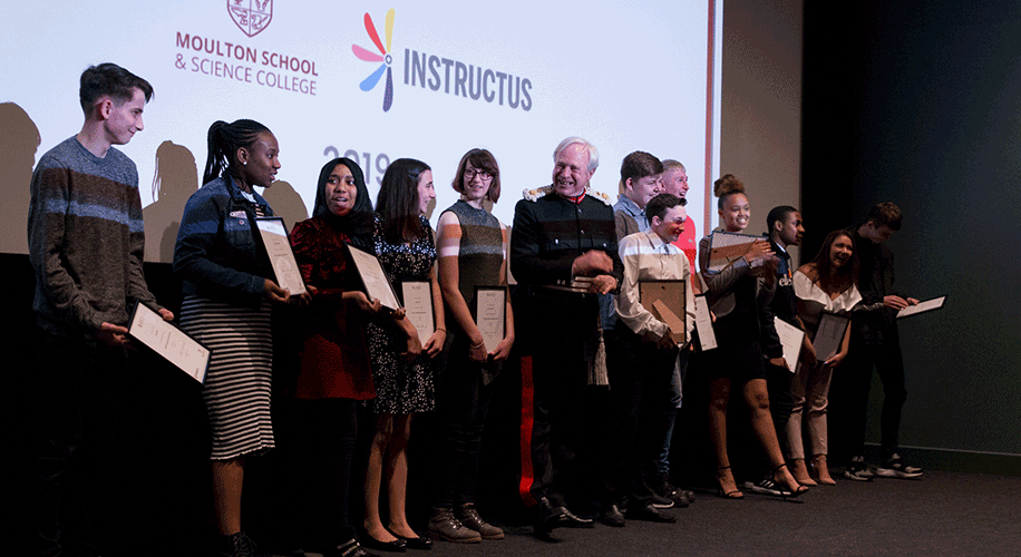 Life Skills on MARS - graduation ceremony at Northampton Filmhouse, April 2019 | Instructus